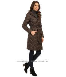 Пуховое пальто Ellen Tracy Америка с капюшоном