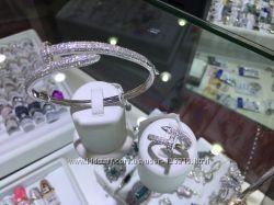 Бижутерия в стиле  Cartier серебро