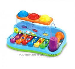 Ксилофон стучалка Бряк-звяк Музыкальная игрушка для детей от 1 года