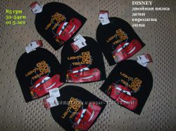 Разпродажа шапка тачки маквин от дисней 5-10 лет 52-54см