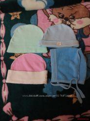 шапочки мальчикам и девочкам и малышам