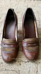 Туфли Timberland размер 37, 5 стелька 24, 5см натуральная кожа