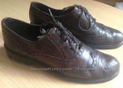 Туфли оксфорды, 100 Италия, разм. 39-40 25, 5 см по стельке