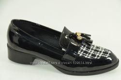 Модные туфли лоферы по низкой цене