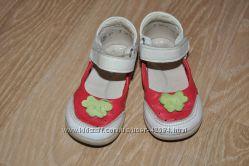 Летние туфельки, кожа