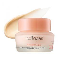 Крем для лица с морским коллагеном It&acutes Skin Collagen Nutrition Cream