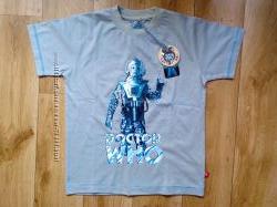 Футболка Doktor Who 146р. и две однотонный футболки