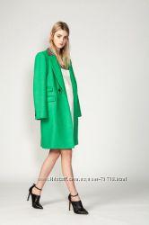 Новое шикарное итальянское брендовое шерстяное пальто Rhie размер 38