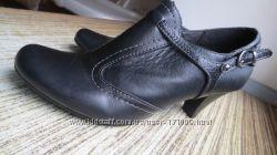 Осенние кожаные туфли Footglove 35-36р-23см