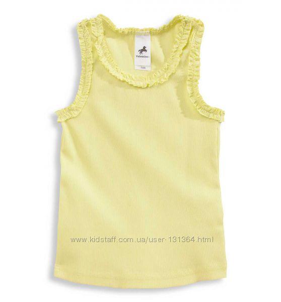 Новые фирменные майки и футболки на девочку р. 110-116