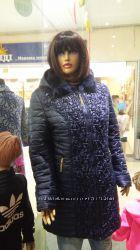 Зимняя куртка женская Мальвы удлиненная