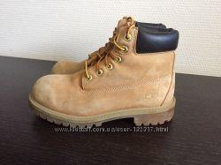 Кожаные ботинки Timberland 32р