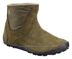 Женские замшевые ботиночки фирмы Columbia, размер 10, оригинал