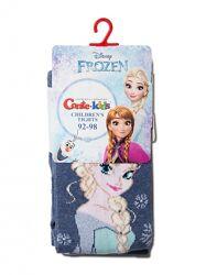 Conte детские колготки Frozen с люрексом и стразами