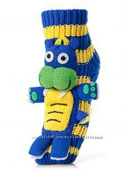 Невероятно красивые весёленькие теплющие носочки