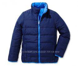 Куртка двусторонняя стеганая демисезон Tchibo на 110-116