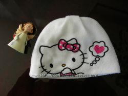 флисовая шапуля с Китти