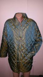 40р стильная куртка Basler утеплена чуть синтепоном, в поясе подкладка нат
