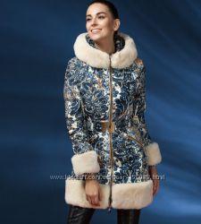 Люксовые модели пуховых пальто сезона 2017