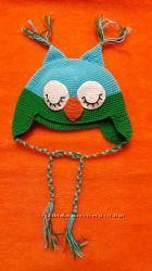 деми шапочки для мальчика и девочки