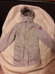 Теплая удлиненная куртка - парка Dopodopo на рост 110 см