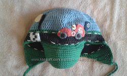 Эксклюзивная шапочка для модника. 3-5 лет