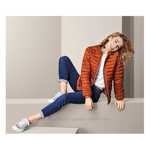 Качественная стильная стёганная куртка, курточка от tcm Tchibo чибо, S-3XL