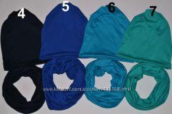Стильный аксессуар - 2 в 1 шапка и хомут, для хвостика