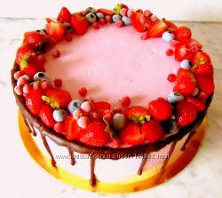 Новые торты и пирожные с  ягодами