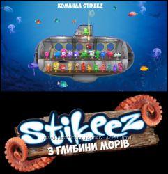 Полная коллекция Stikeez Из глубины морей