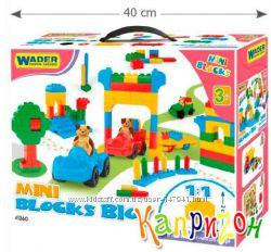 Конструктор Wader - мини блоки - 300 элементов