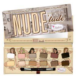 Nude &acutetude Палитра теней The Balm Nude Eyeshadow Palette