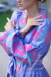 fb57f7588a5ef9 Дизайнерское платье с вышивкой в стиле бохо, вышиванка, 3500 ...