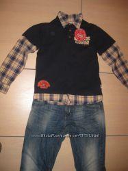 Рубашка реглан р. 152