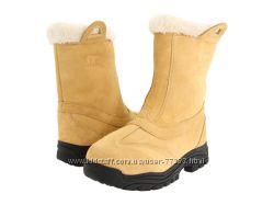 Sorel зимние кожаные сапоги с утеплителем Tинсулейт