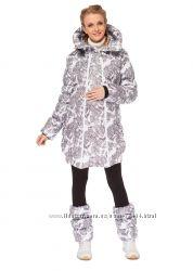Зимняя куртка 3в1 для беременных слингоношения Исландия I love mum