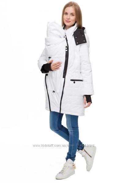Зимняя куртка для беременных и слингоношения из мембранной ткани