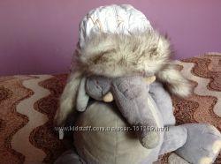 Красивая шапка-ушанка
