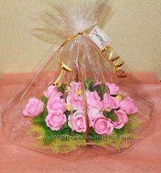 Корзина роз
