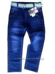 Джинсы для мальчика U. S. Polo Assn. темно-синие