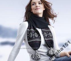 Теплый женский шарф от TCM Tchibo В наличии