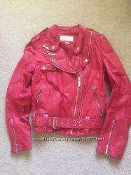 Женская кожаная куртка Michael Kors  S M