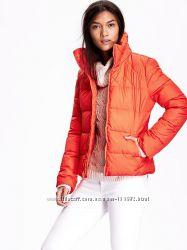 OLD NAVY Стильная курточка мандаринового цвета Яркая эффектная. Размер S