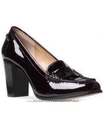 Туфли мокасины удобный каблук черные Vince Camuto оригинал из США р. 39, 5