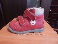 ортопедические деми ботинки Ортекс 28 размер девочка