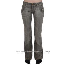Джинсы Lerock Womens Flared Denim Jeans Pants. Размер 14, пролёт