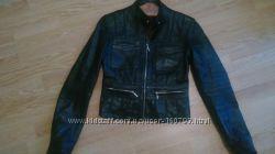 Куртка кожаная женская Dolce & Gabbana xs