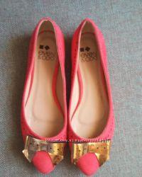 Балетки яркие нарядные  туфли р. 38 новые сток