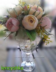 Сладкий букет Английские розы