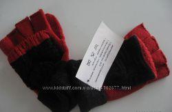 Варежки-перчатки с открытыми пальцами